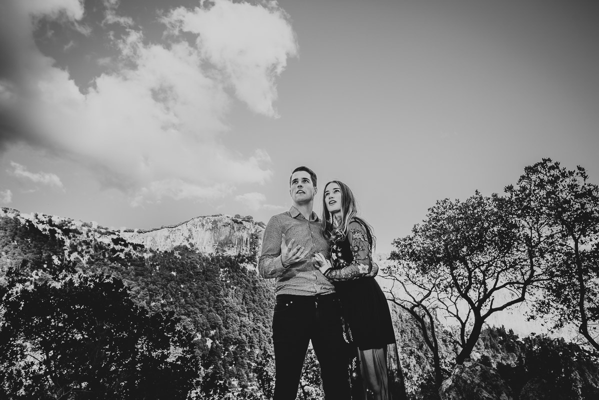 Natural Engagement Photography in Alaró. Mallorca
