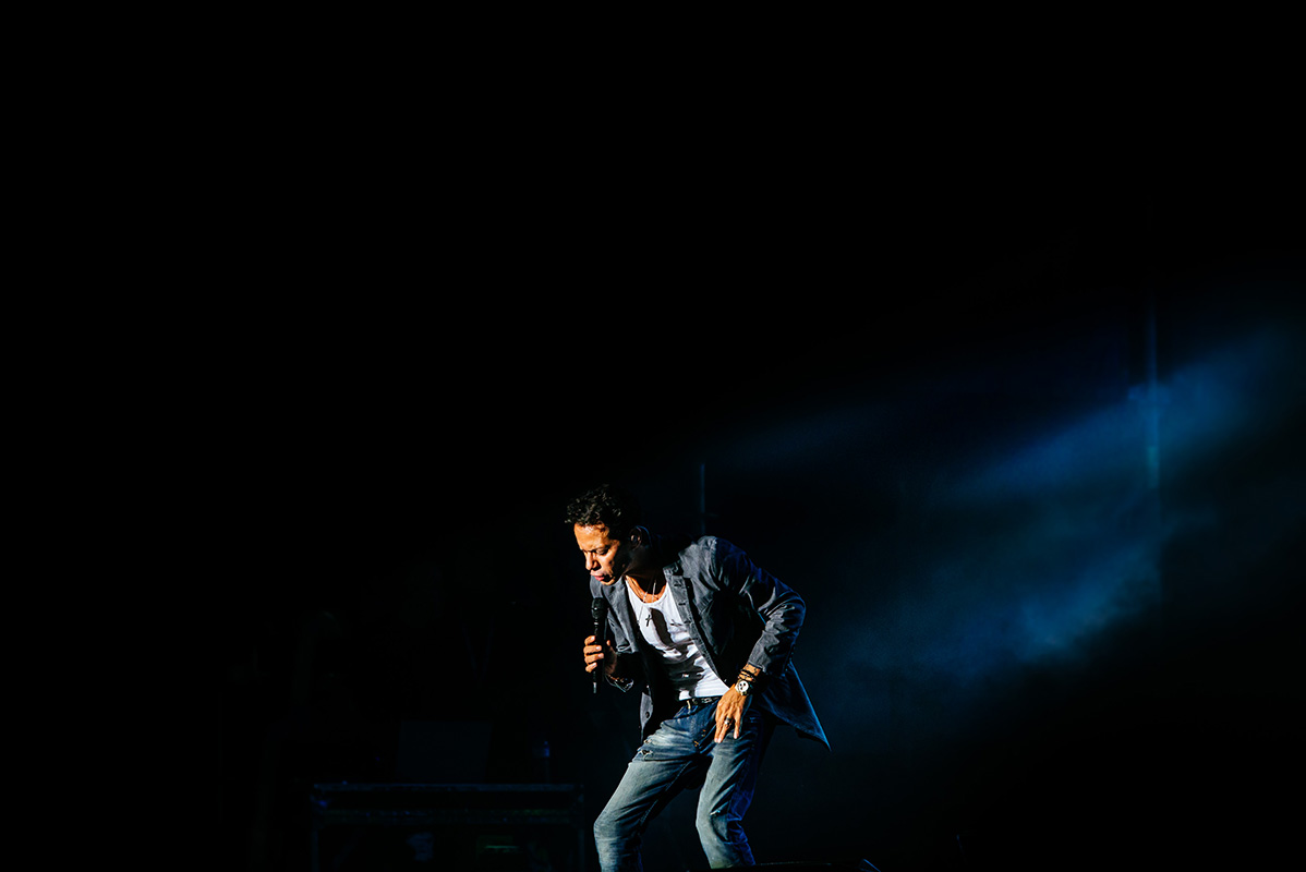 Festival Music Marc Anthony Tour Spain